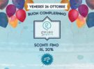 Venerdì 26 ottobre il compleanno di Gelso Sport. Fisiokinetica lo festeggia con sconti